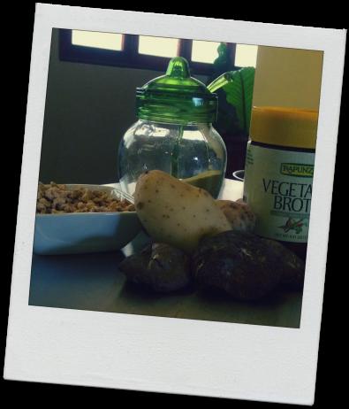 Shitake Protein Potatoes Ingredients