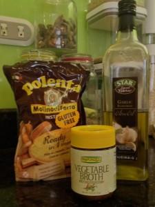 almond polenta gnocchi ingredients