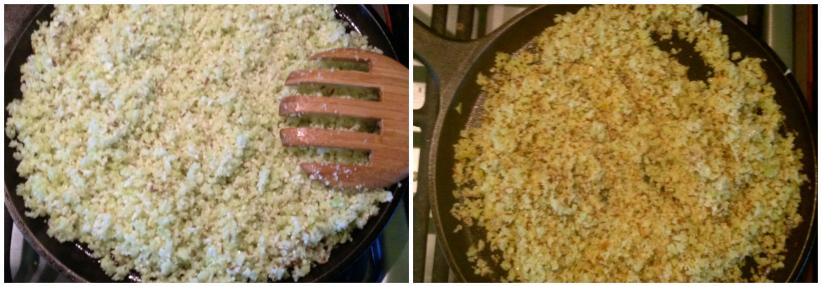 preparing vegetarian cous cous