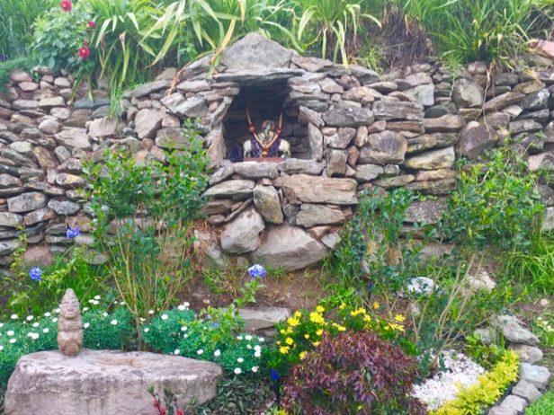 Kirshna Altar Closeup