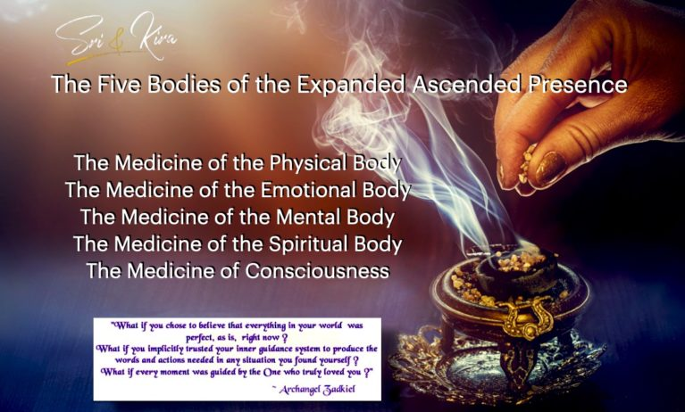 The Five bodies of Expanded Ascension Presence